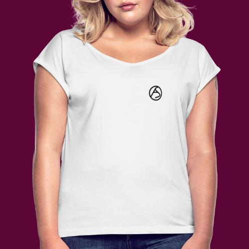AS - Women's T-Shirt with rolled up sleeves