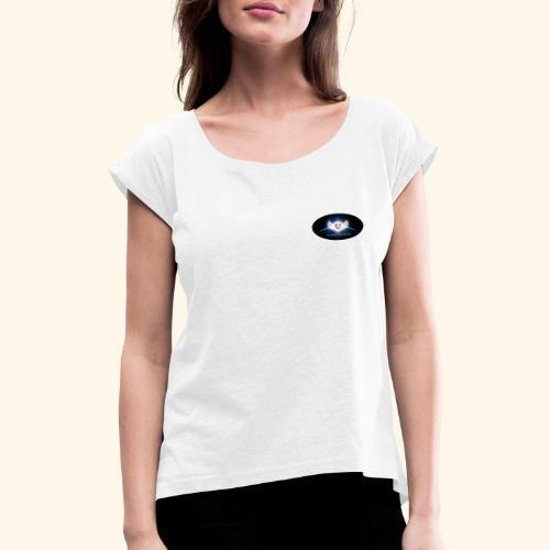 AMH Symbol - Frauen T-Shirt mit gerollten Ärmeln