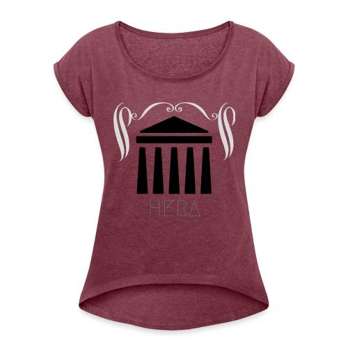 HERA - T-shirt à manches retroussées Femme