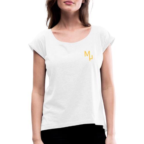 MU DESIGN - T-shirt à manches retroussées Femme