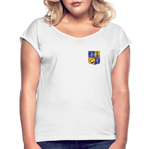 Swedish Viking - T-shirt med upprullade ärmar dam