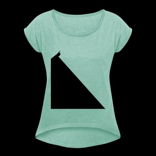 SOS - T-shirt à manches retroussées Femme