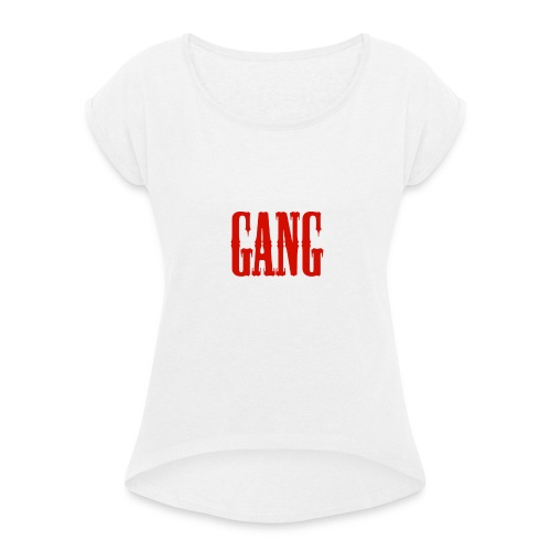Gang - Women's T-Shirt with rolled up sleeves