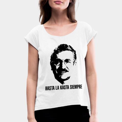 HASTA LA KASTA - Maglietta da donna con risvolti