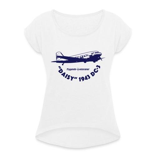 Daisy Liftoff 1 - T-shirt med upprullade ärmar dam