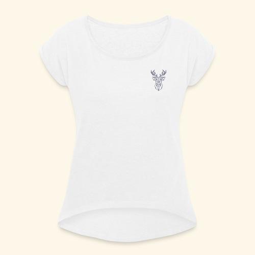 Cerflo - T-shirt à manches retroussées Femme