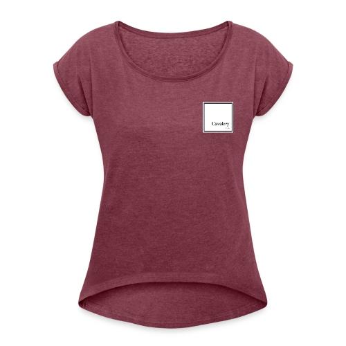 Cavalery - T-shirt à manches retroussées Femme