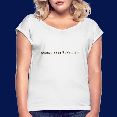 www zx12r fr OR - T-shirt à manches retroussées Femme