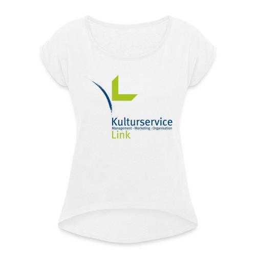 KSL Logo RZ 1200 - Frauen T-Shirt mit gerollten Ärmeln