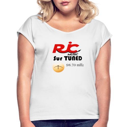 RJC sur TUNED - T-shirt à manches retroussées Femme