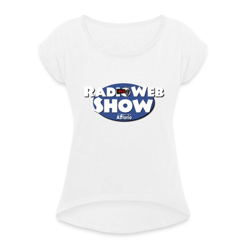 Logo RadioWebShow - Maglietta da donna con risvolti