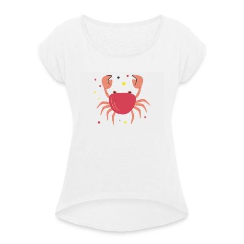 Signo Zodiacal - Camiseta con manga enrollada mujer