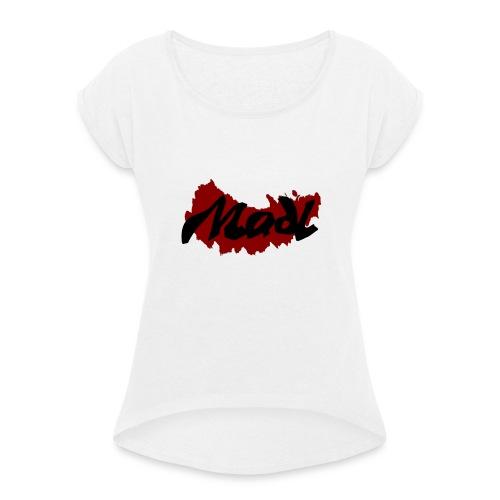 Madl - Frauen T-Shirt mit gerollten Ärmeln