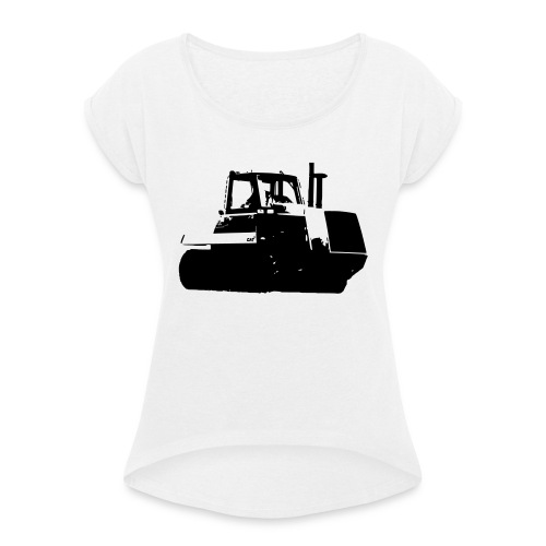 Cat65 - Women's T-Shirt with rolled up sleeves