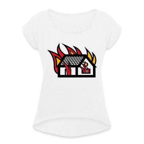 Home Fire - Maglietta da donna con risvolti