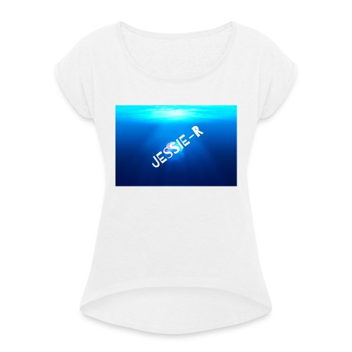 Jessie-R - Women's T-Shirt with rolled up sleeves