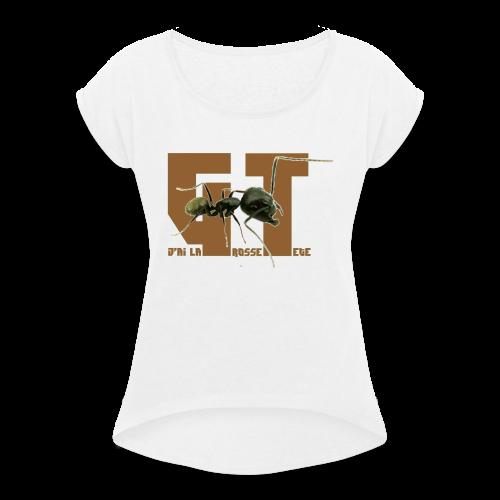JLGT Ant - T-shirt à manches retroussées Femme