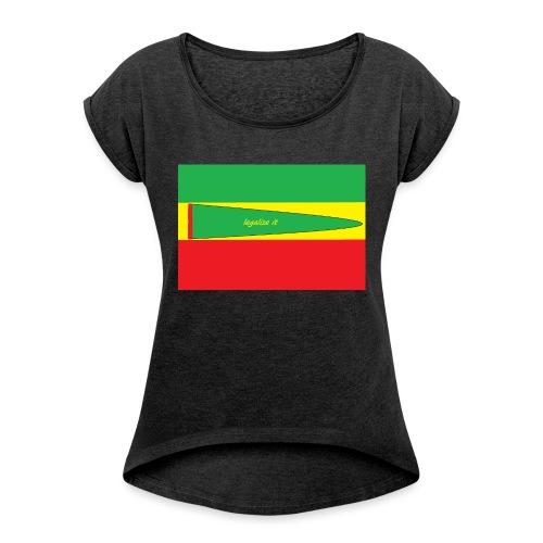 Immagine_1-png - Maglietta da donna con risvolti