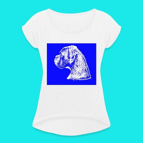 Lasko1234-jpg - T-shirt à manches retroussées Femme