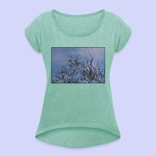 Summer times - Male shirt - Dame T-shirt med rulleærmer