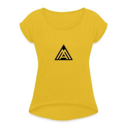 AM - Maglietta da donna con risvolti