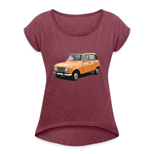 My Fashion 4l - T-shirt à manches retroussées Femme
