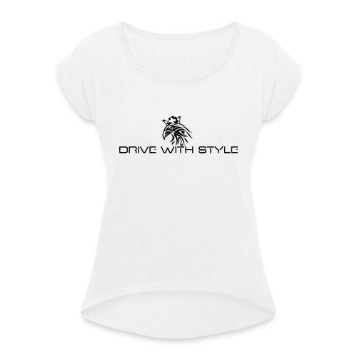 Edition Griffon - T-shirt à manches retroussées Femme