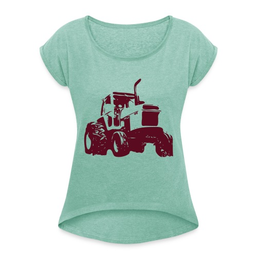 Case1 - Women's T-Shirt with rolled up sleeves