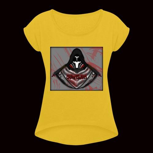 SoWeQDK Reaper ! - Dame T-shirt med rulleærmer