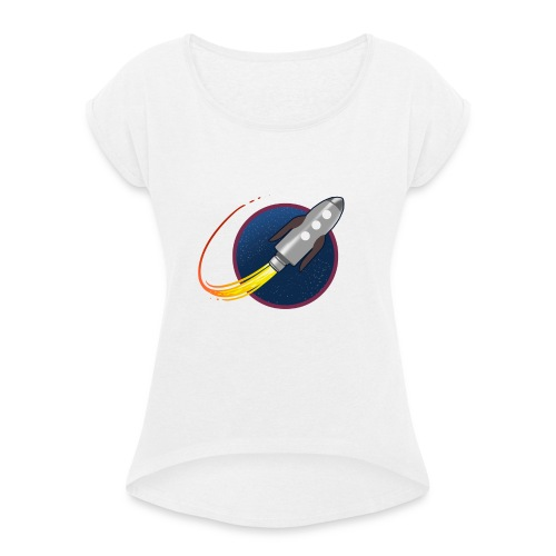 GP Rocket - Women's T-Shirt with rolled up sleeves