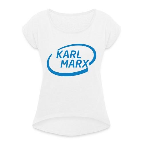 Karl Marx X Intel - Maglietta da donna con risvolti