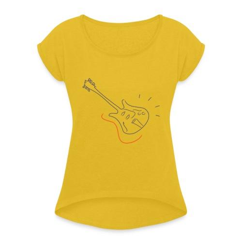 Guitar - Jazz Life Collection - Maglietta da donna con risvolti