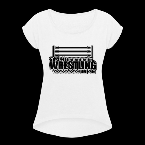 Ring logo - Women's T-Shirt with rolled up sleeves