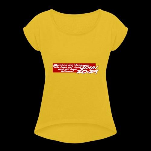 OVER REASON 2 - Camiseta con manga enrollada mujer