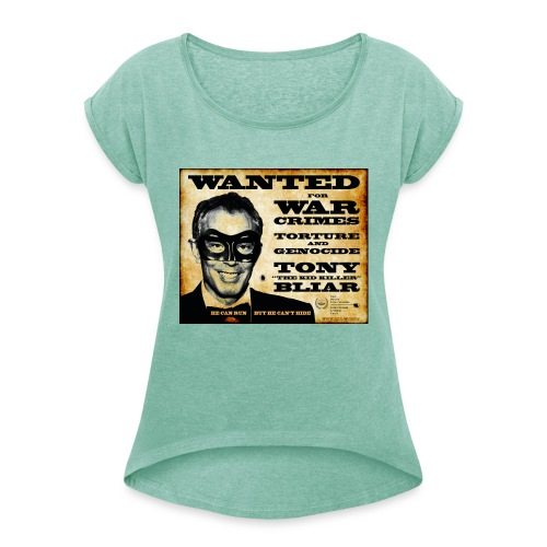 Wanted - Women's T-Shirt with rolled up sleeves