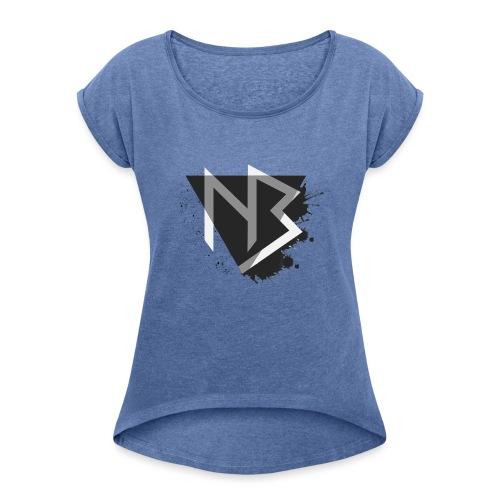 T-shirt NiKyBoX - Maglietta da donna con risvolti