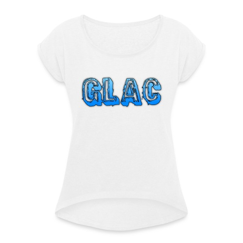 Underlägg - T-shirt med upprullade ärmar dam