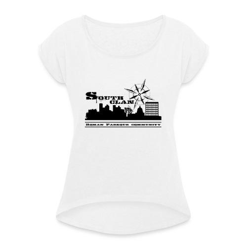 SOUTH CLAN CLASSIC - Maglietta da donna con risvolti