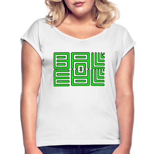 Wa-Dee-Ba Naked Lemon - T-shirt à manches retroussées Femme