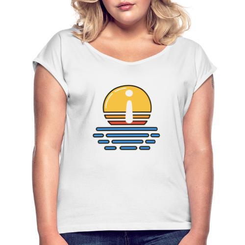 Mentor Dämmerung - Frauen T-Shirt mit gerollten Ärmeln