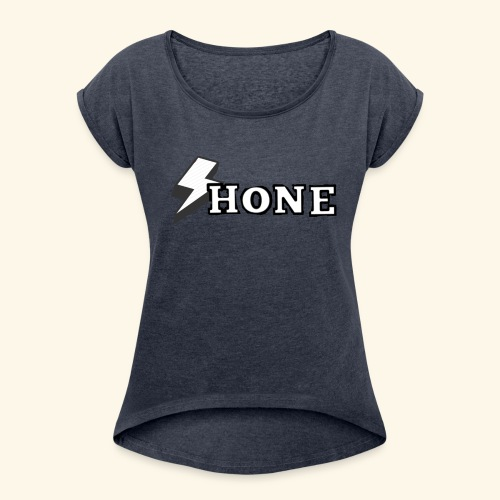 ShoneGames - Women's T-Shirt with rolled up sleeves