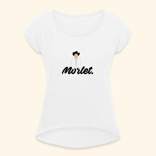 Garry x Moret - T-shirt à manches retroussées Femme