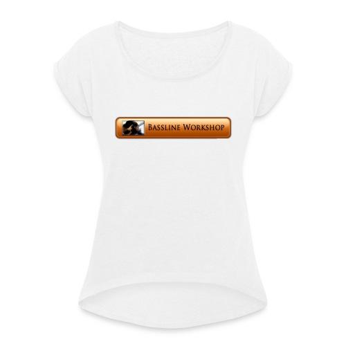 i logo1tshirt copie - T-shirt à manches retroussées Femme