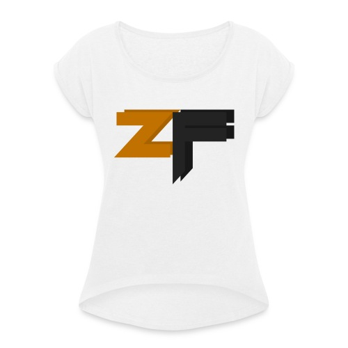 ZyberFeeniix S'amsung Galaxy s5 Premium Cover - Women's T-Shirt with rolled up sleeves