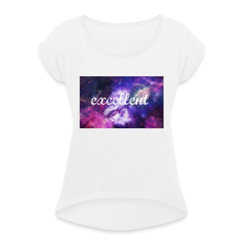 Excellent Clothing Brand - Women's T-Shirt with rolled up sleeves