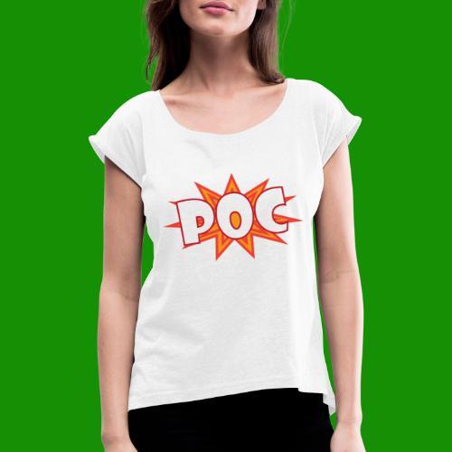 POC - T-shirt à manches retroussées Femme