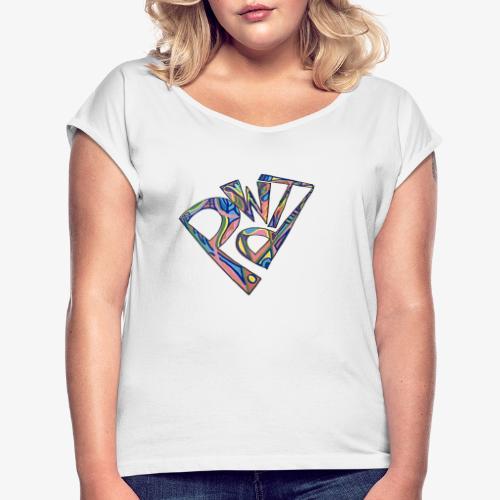 PDWT - T-shirt à manches retroussées Femme