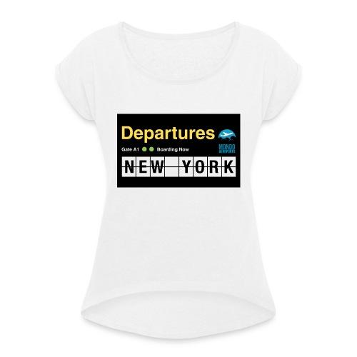 Departures Defnobarre 1 png - Maglietta da donna con risvolti