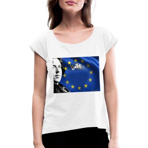 Wilde 2021/22 - Maglietta da donna con risvolti