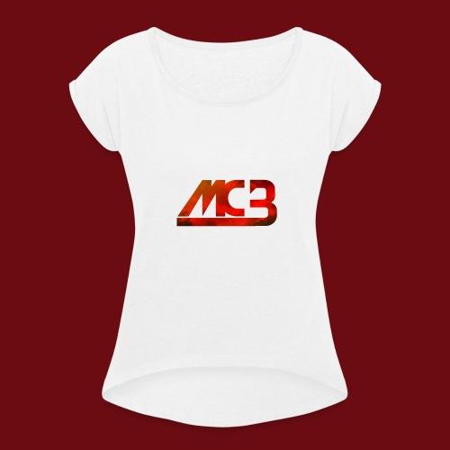 MCB rompertje - Vrouwen T-shirt met opgerolde mouwen